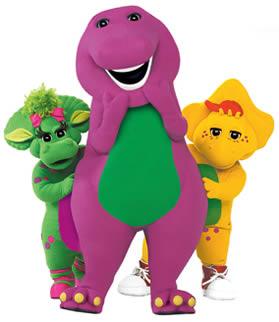 My Mommyology Barney