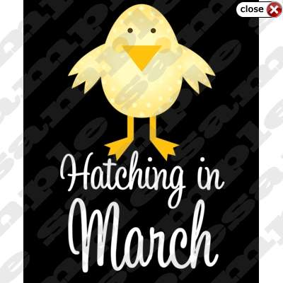 My Mommyology March baby