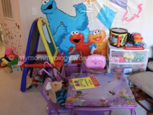 My Mommyology play area