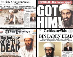 My Mommyology bin Laden's death