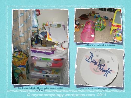 My Mommyology playroom work-in-progress